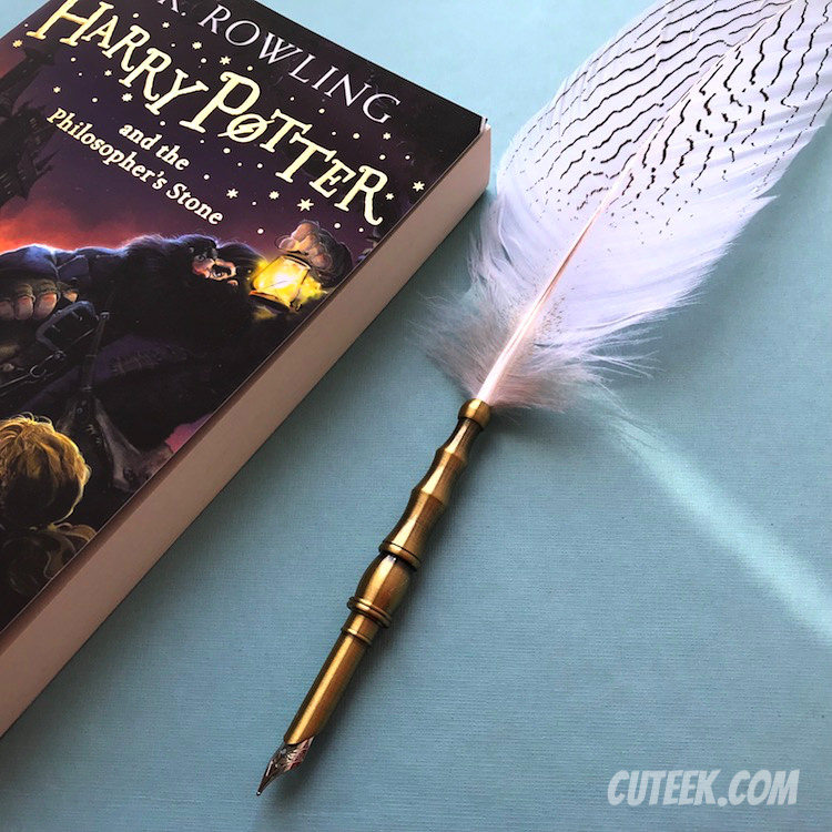 White Feather Quill Pen Harry Potter