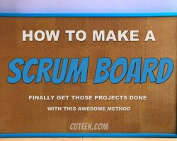 How to Make a Scrum Board