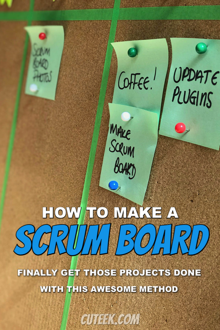 How to Make a Scrum Board | Productivity Hack