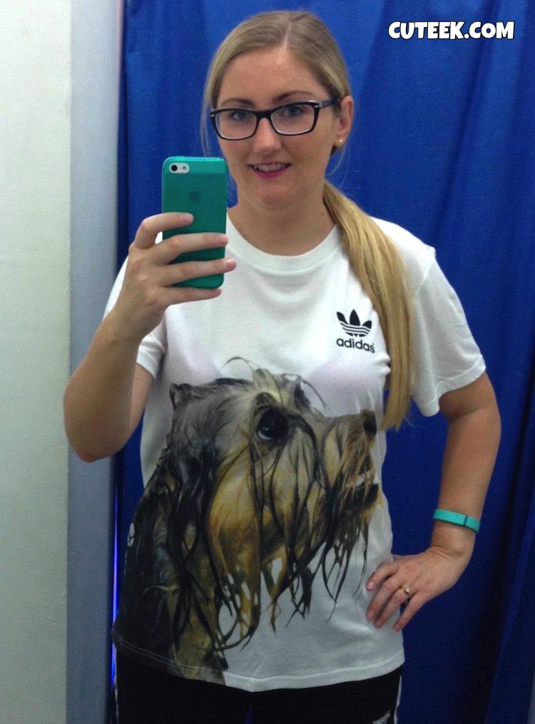 Adidas Rita Ora Yorkshire Terrier TShirt