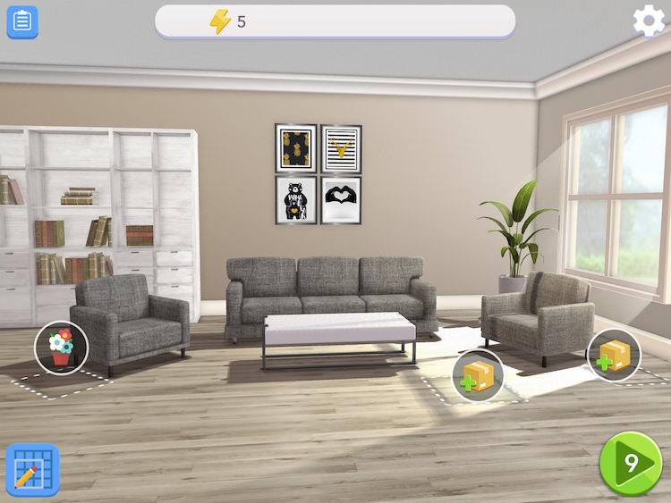 Home Design Makeover Living Room