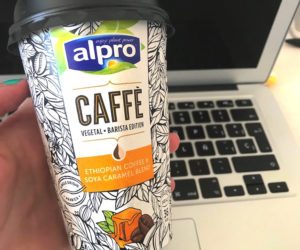 Alpro Ethiopian Coffee and Soya Caramel