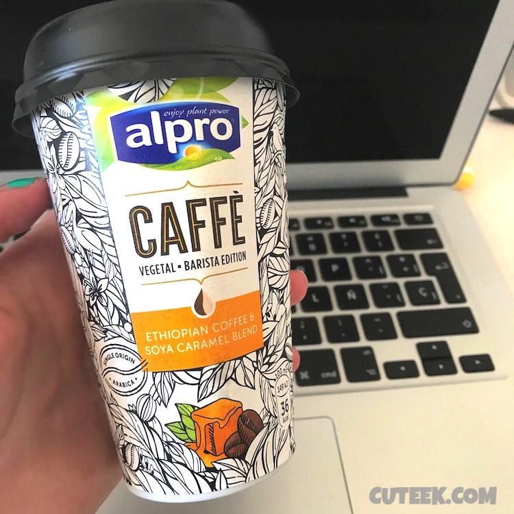 Alpro Ethiopian Coffee and Soya Caramel