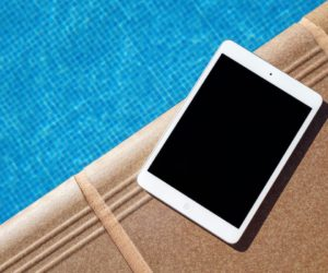 iPad Swimming Pool