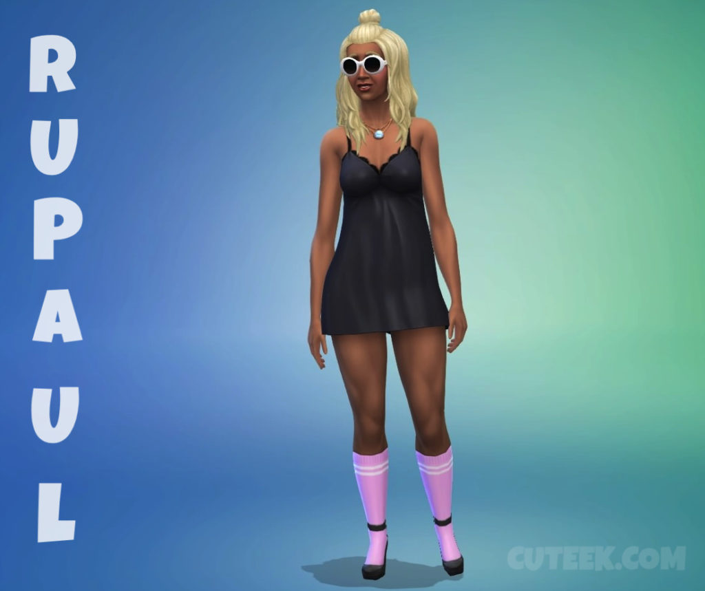 RuPaul | The Sims Character Challenge