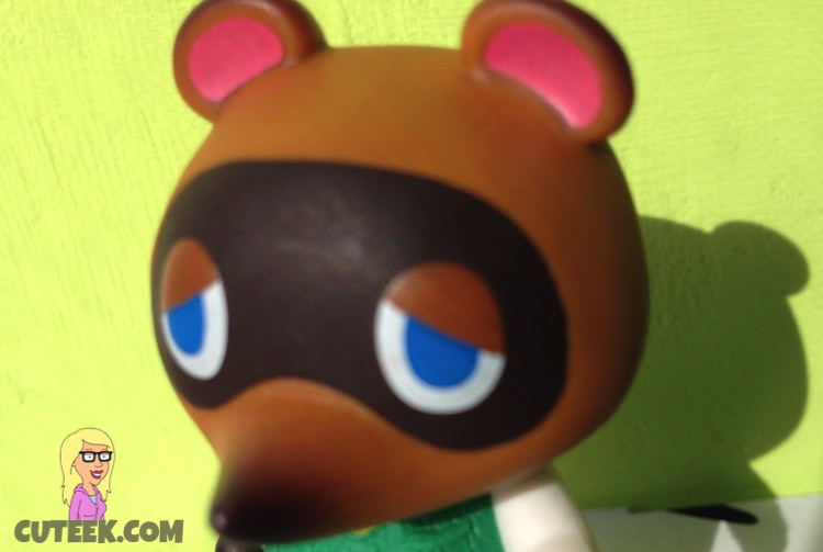 Tom Nook amiibo Animal Crossing close up