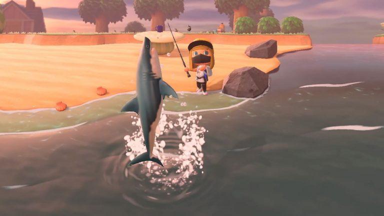 Animal Crossing New Horizons Great White Shark
