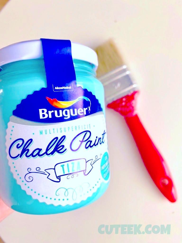 Bruguer Chalk Paint Verde Turquesa