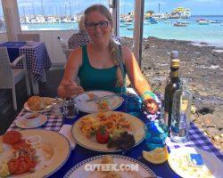 Lunch In Corralejo Fuerteventura