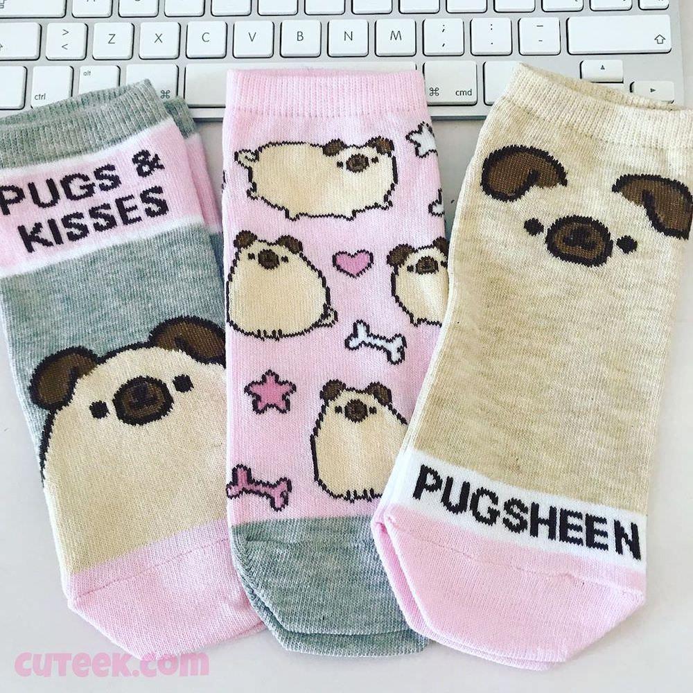 Pugsheen Socks Primark