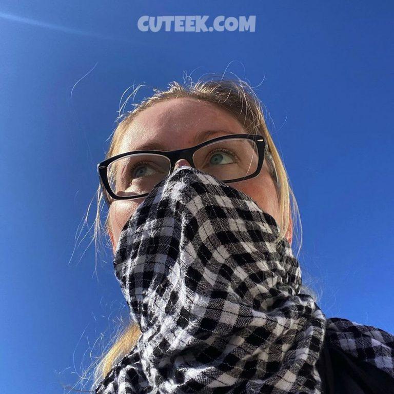 Spain Lockdown Day 37   Girl Wearing Mask