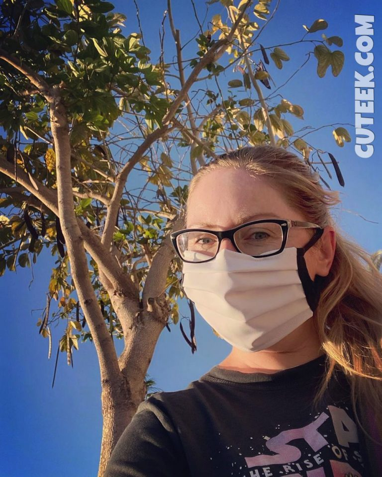 Spain Lockdown Day 49   Girl Wearing Mask