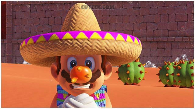 Super Mario Odyssey Sombrero Screenshot