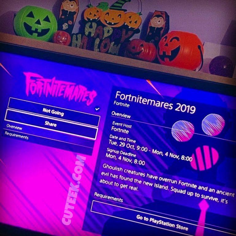Fortnitemares 2019 Halloween