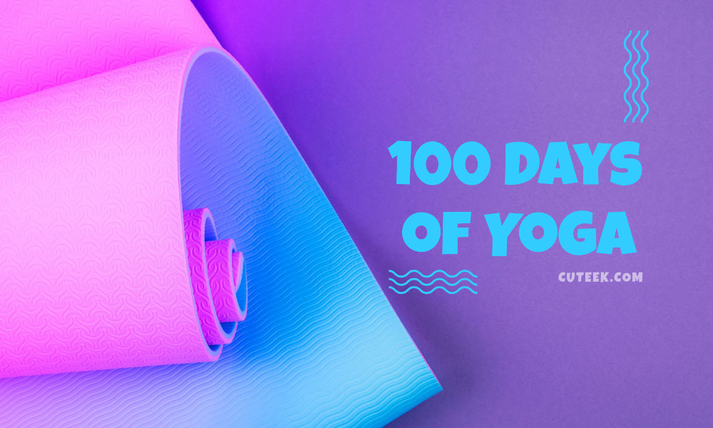 100 Days Of Yoga Challenge