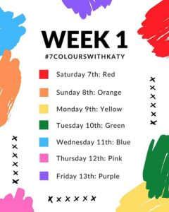 7 Colours With Katy Photo Challenge | Little Miss Katy Photo Challenge
