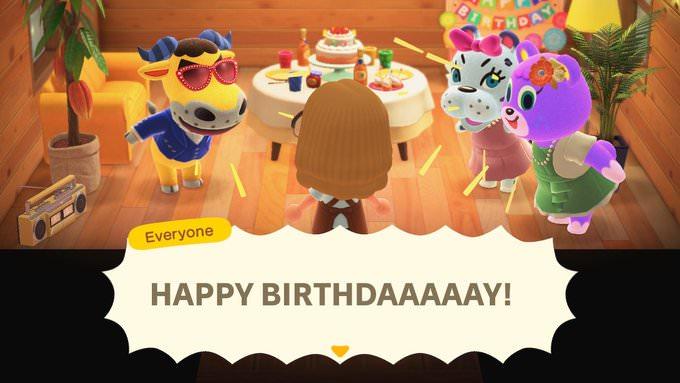 Animal Crossing New Horizons Birthday Party