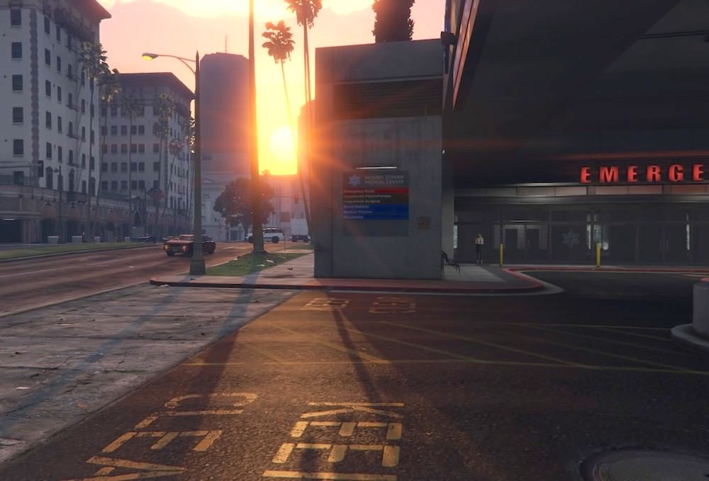 Mount Zonah Medical Center Rockford Hills Los Santos GTAV