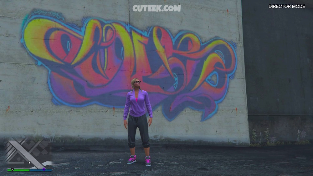 Grand Theft Auto Street Art Influencer