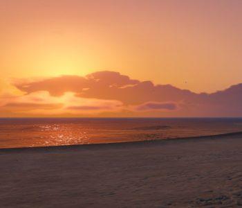 GTAV Del Perro Beach Sunset