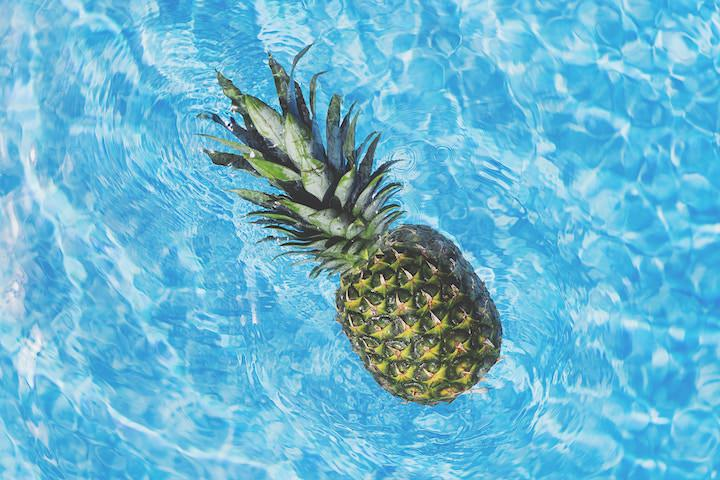pineapple in the water | instagram business tips