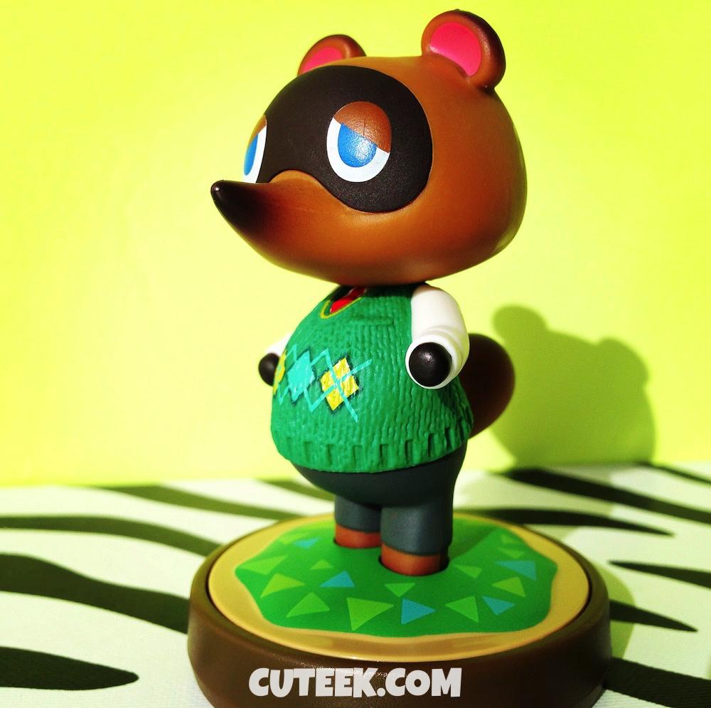 Tom Nook amiibo Green Sweater | Animal Crossing