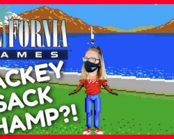 California Games Hacky Sack Challenge