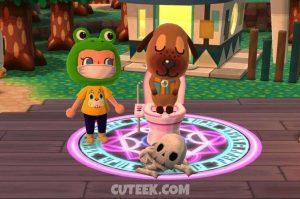 Animal Crossing Pocket Camp Creepy Toilet
