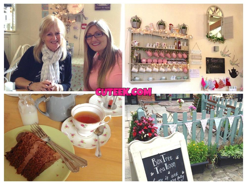 Afternoon tea at Box Tree Tea Room