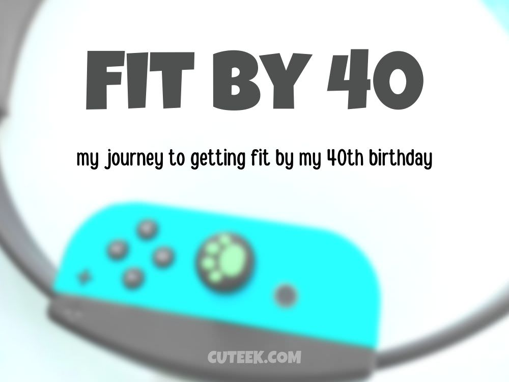 Fit By 40 | The journey to getting fit by my 40th birthday