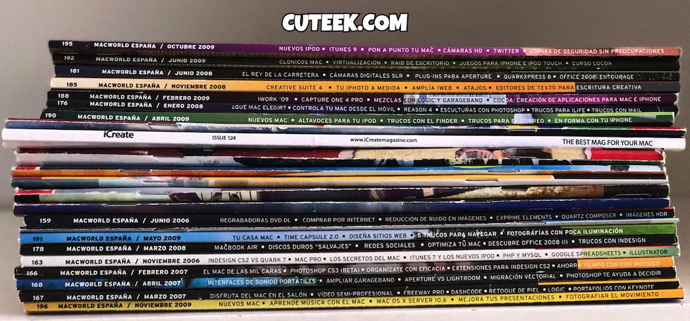 Old Macworld Magazines