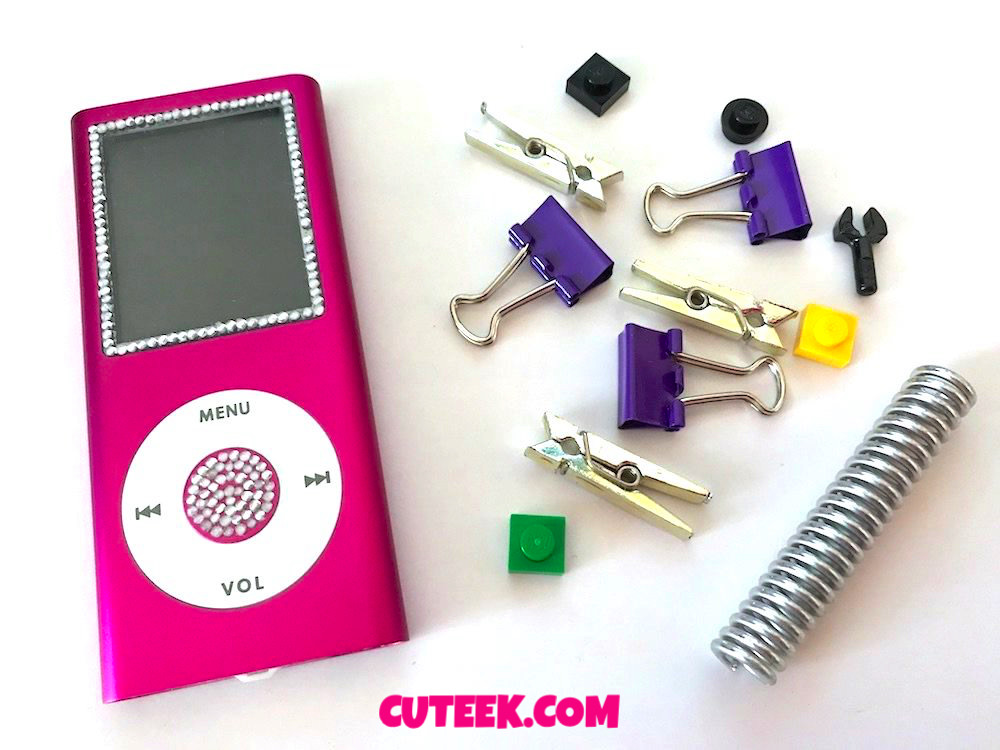 Pink Bedazzled MP3 Player | Fake iPod