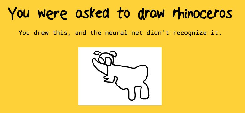 Quick Draw Game by Google