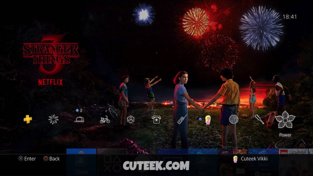 Stranger Things PS4 Theme