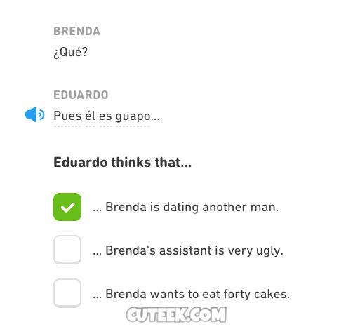 Stuff Duolingo Says