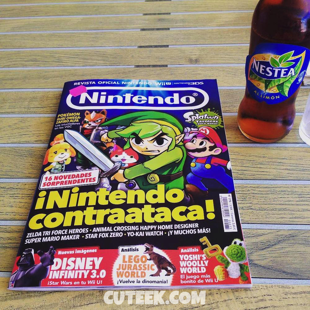 Nintendo Magazine July 2015