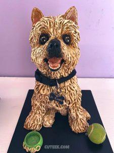 Silky Terrier Memorial Figurine