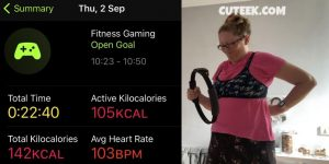 Day 2 Fitness Gaming Challenge Ring Fit Adventure Back Injury