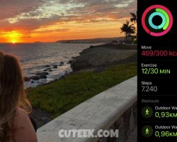 Magical Sunset + Day 13 Fitness Gaming
