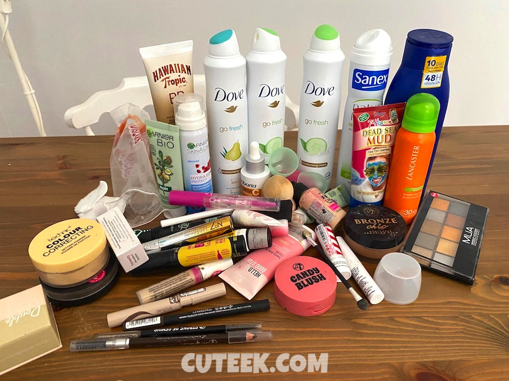 Makeup and Toiletries Declutter