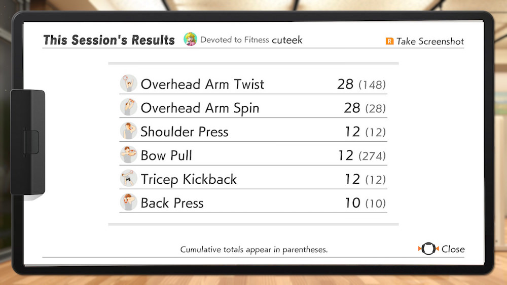 Ring Fit Adventure Custom Arm Workout